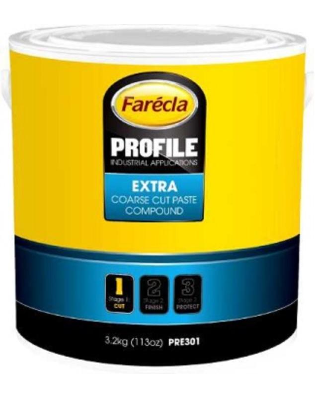 PROFILE EXTRA COARSE CUT PATE A POLIR POT DE 3.2KG