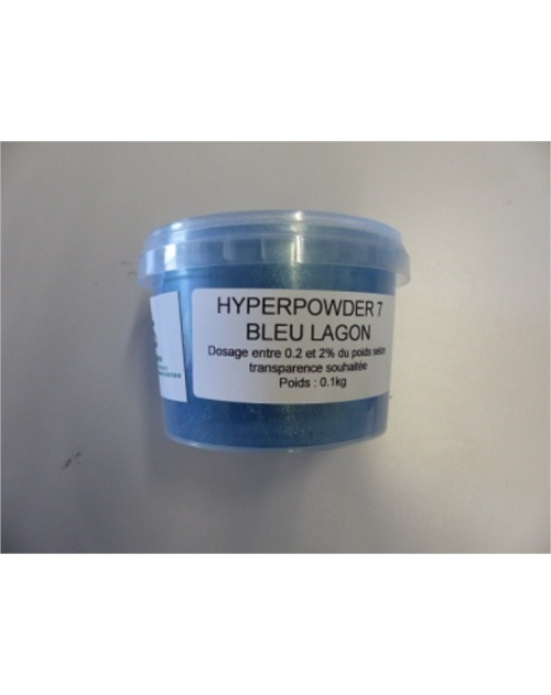 HYPERPOWDER 7 BLEU LAGON 100GR