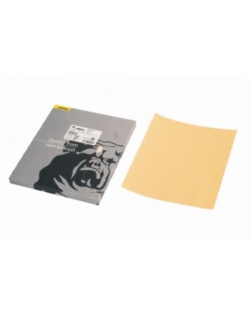 papier à sec GOLD 230*280 P120 boite de 50 feuilles
