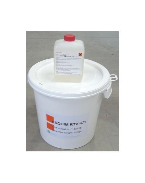 S431/25kg (Silicone S491 25kg + cata S431 1.250kg)