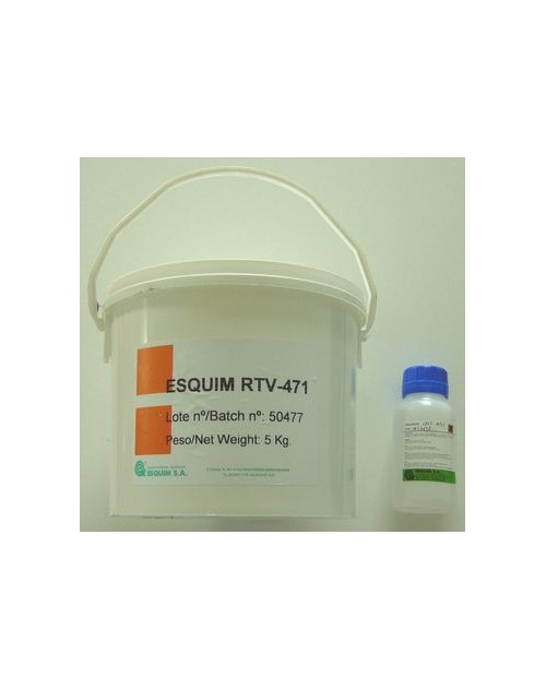 S431/5kg (Silicone S491 5kg + cata S431 250g)