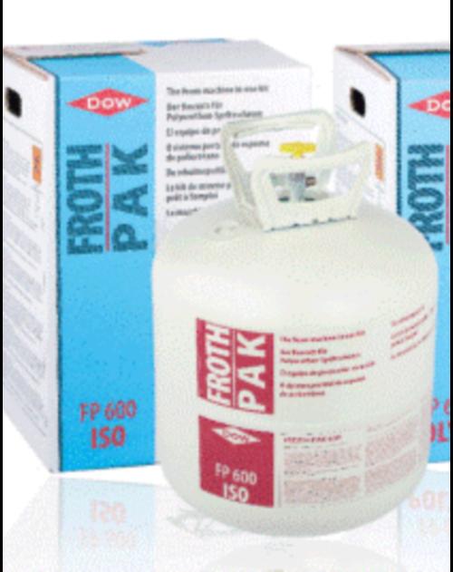 FROTH PAK bonbonne ISO FP600